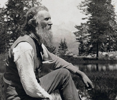 John Muir in Yosemite National Park
